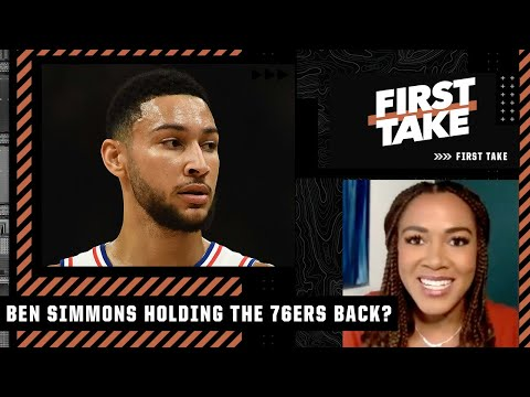 Is Ben Simmons holding the 76ers back? First Take debates