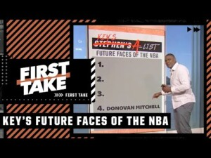 Keyshawn Johnson's List: Future Faces of the NBA | First Take