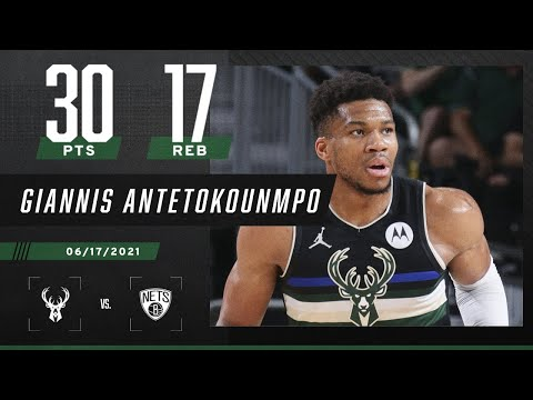 Giannis Antetokounmpo keeps Bucks ALIVE with 30 PTS & 17 REB in Game 6 win ‼️