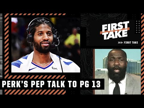 Kendrick Perkins delivers a message to Donovan Mitchell and Paul George before Game 6   First Take