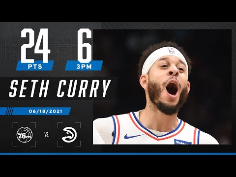 Seth Curry COMES UP CLUTCH with 24 PTS & 6 3PM  to force Game 7 ‼️