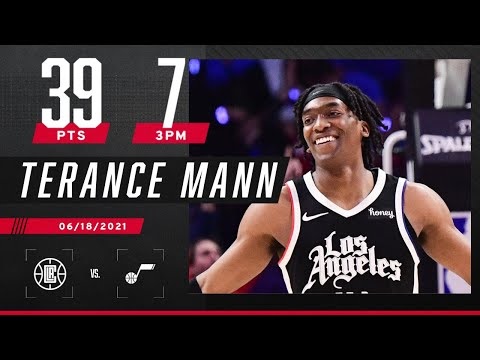 Terance Mann GOES OFF for 39 PTS & 7 3PM to send Clippers to their first Conference Finals‼️