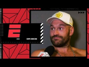 Tyson Fury calls Deontay Wilder an 'excuse maker' | Boxing on ESPN