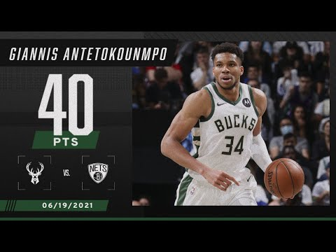 Giannis Antetokoumpo leads Bucks to GAME 7 WIN with 40 PTS & 13 REB ‼️