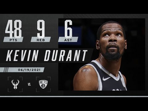 ⚫ Kevin Durant's 48 PTS not enough for Nets in Game 7 vs. Bucks ⚪