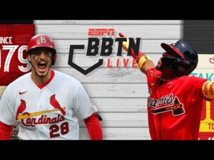 Testing MLB's banned Spider Tack substance on exotic items | Cardinals vs. Braves | BBTN Live