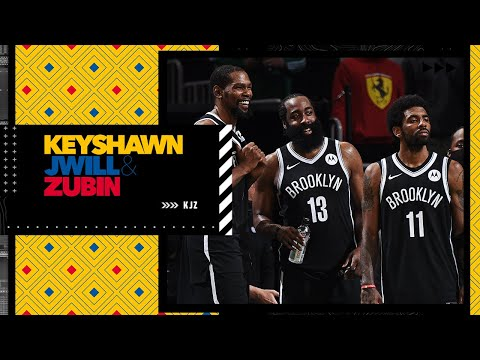 Will Kevin Durant, James Harden and Kyrie Irving finish their careers with the Brooklyn Nets? | KJZ