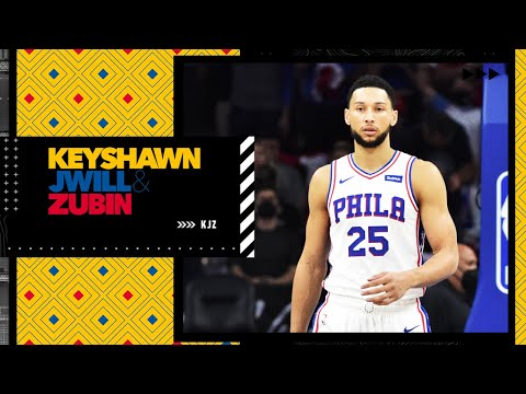 Ben Simmons was scared to take a shot in the 4th quarter! – Kendrick Perkins   KJZ