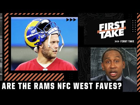 Stephen A. doesn't think Matthew Stafford makes the Rams favorites in the NFC West   First Take