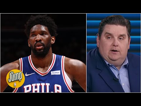 There was a level of concern around Joel Embiid's injury after Game 4 – Brian Windhorst | The Jump
