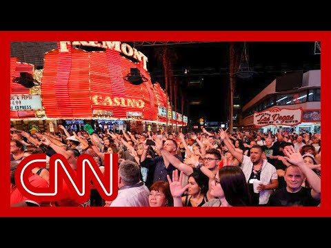 Las Vegas fully reopens to 100 percent capacity