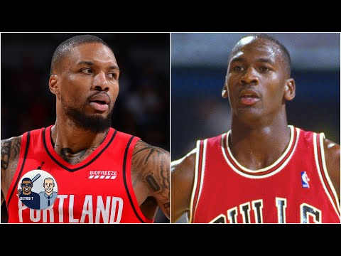 Jalen Rose compares Damian Lillard to MJ after his 55-point game vs. the Nuggets | Jalen & Jacoby