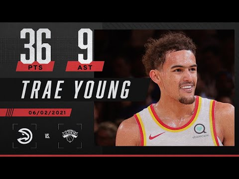 Trae Young quiets MSG and sends the Hawks to the second round 🤫 | 2021 NBA Playoffs