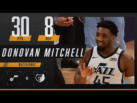 Donovan Mitchell drops 30 to give Jazz a commanding 3-1 lead | 2021 NBA Playoffs