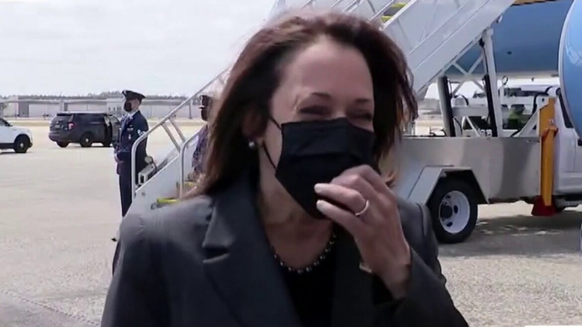 Harris, while finally visiting the border, touts 'extreme progress' in tackling migrant surge