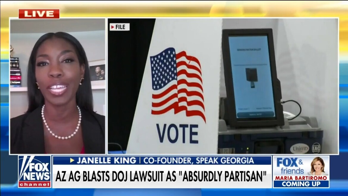 Speak Georgia co-founder blasts DOJ lawsuit as 'extremely insulting' to Black voters