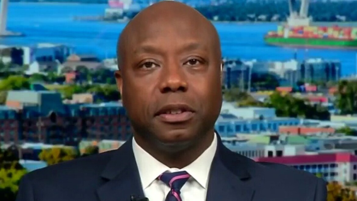 Sen. Tim Scott launches 2022 reelection bid, saying it's time 'to go back to the future'