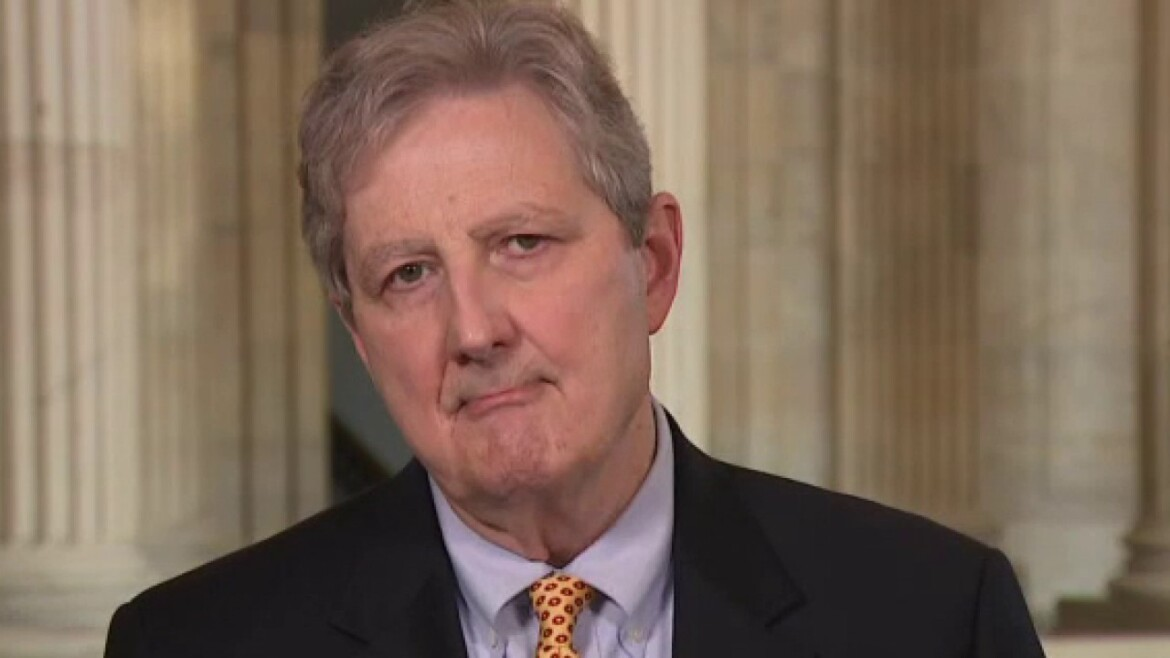 Sen. John Kennedy launches 2022 re-election bid: 'I will not let you down. I'd rather drink weed killer.'