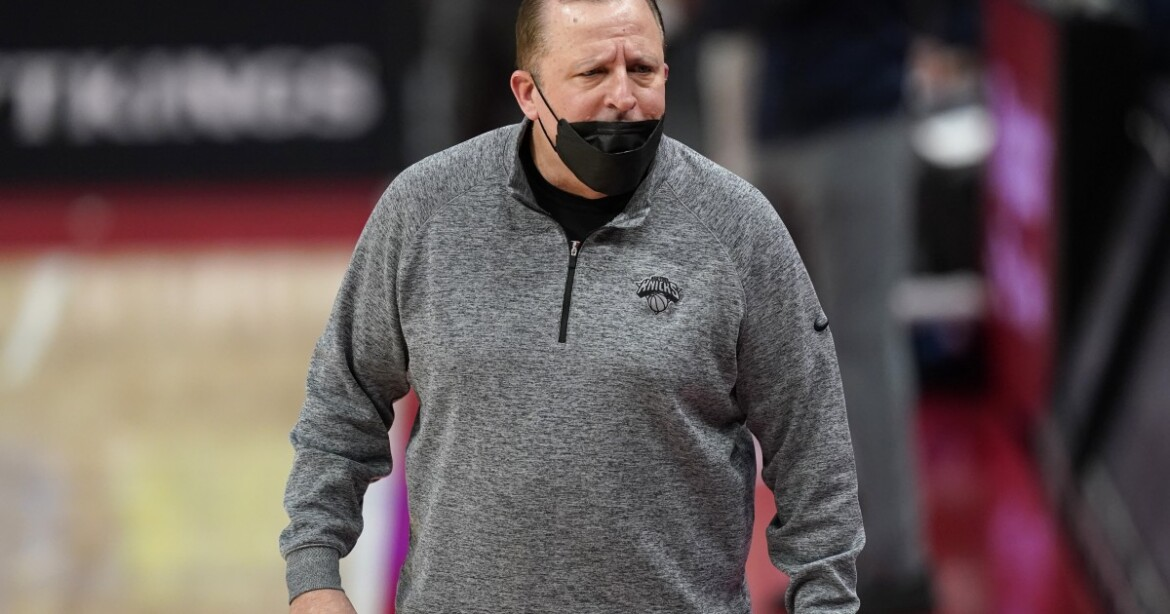 New York's Tom Thibodeau picked as NBA's coach of the year