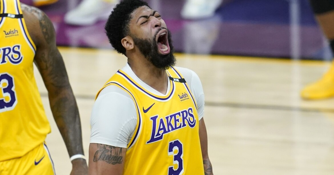 Lakers' Anthony Davis out for Game 5 against Suns