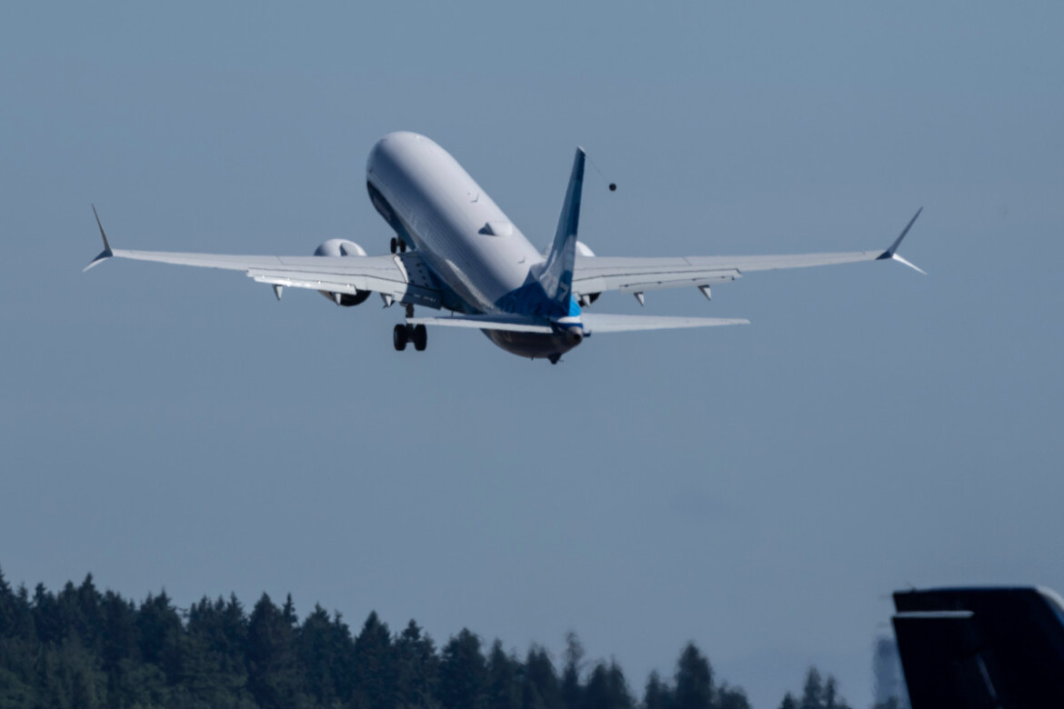 Boeing's largest 737 Max model  jets off on maiden flight