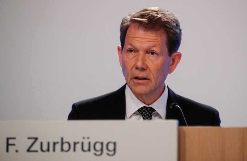Swiss National Bank's Zurbruegg says forex interventions remain important