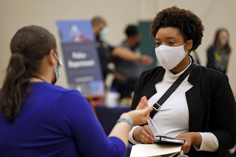 U.S. labor market recovery gaining steam; inflation heating up