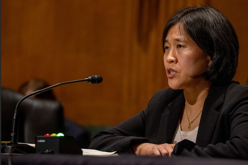 USTR Tai says she will join Biden in Brussels for talks on EU trade disputes