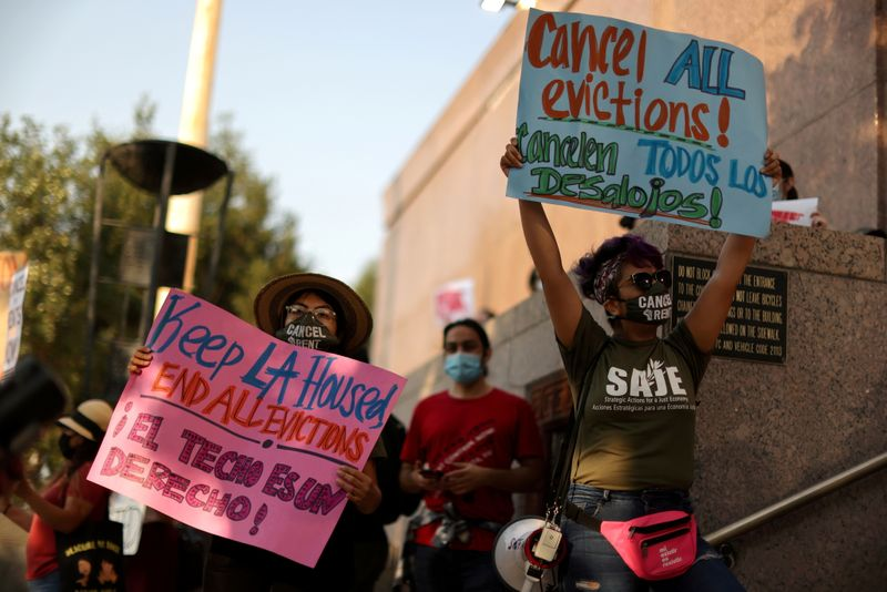 U.S. Supreme Court urged by 22 states to maintain eviction ban