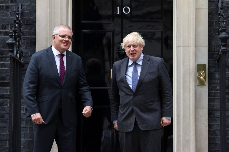 Australia touts 'great win' in Britain's first post-Brexit trade deal