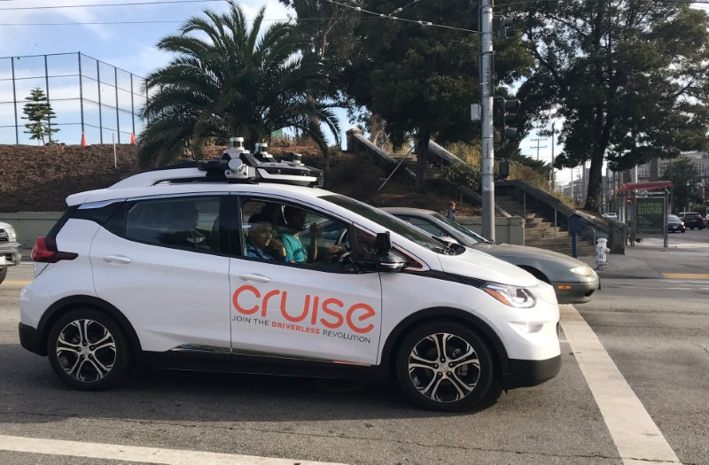 GM's self-driving car unit Cruise to access $5 billion credit line