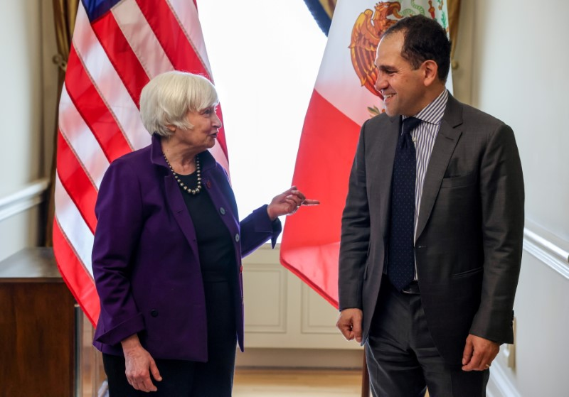 Yellen tells Mexican counterpart G20 countries should back global minimum tax