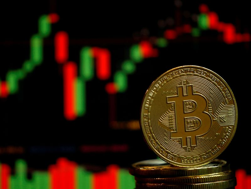 Bitcoin steadies in Asia trading after Monday's plunge