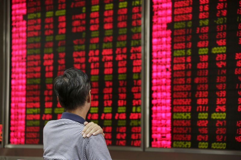 Asian shares kick-off week on cautious note as COVID-19 cases spike