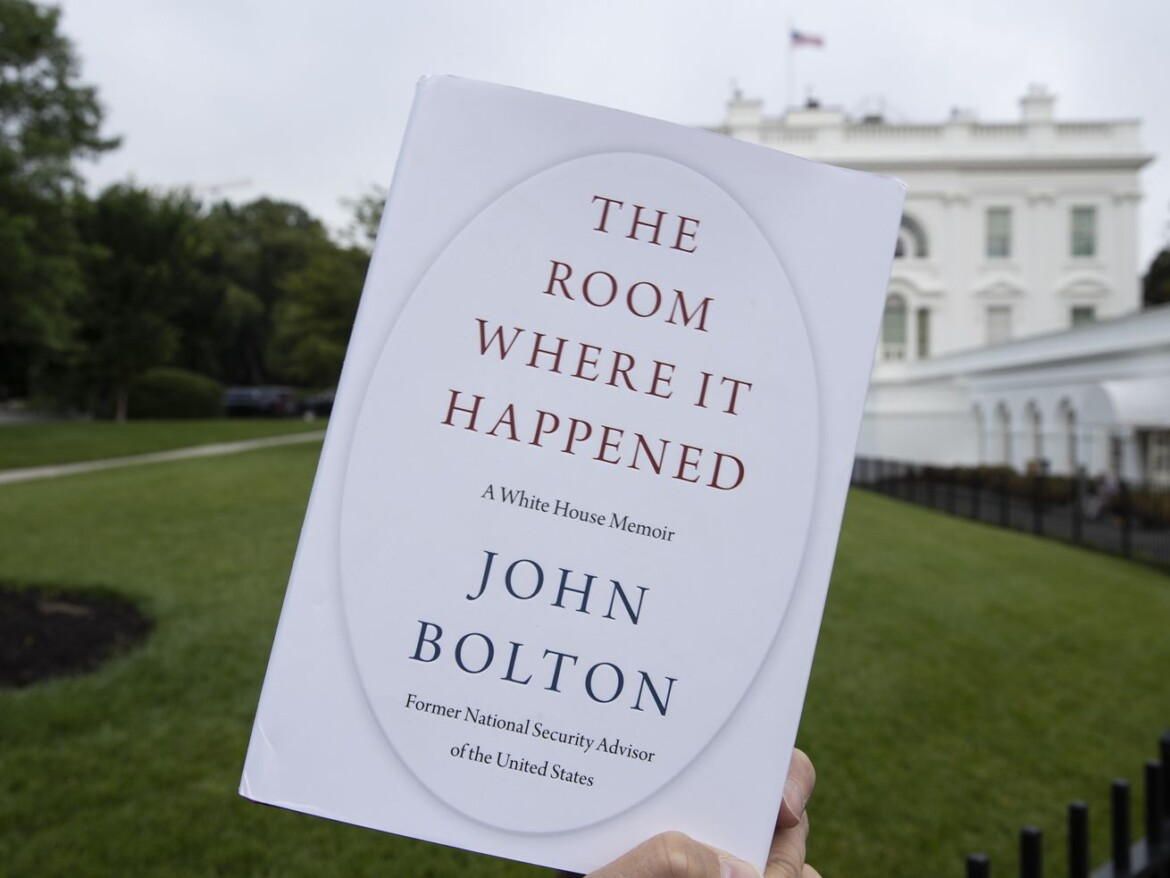 US drops lawsuit, grand jury probe over Bolton book: Lawyer