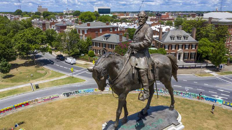 Virginia high court to hear challenges to Lee statue removal