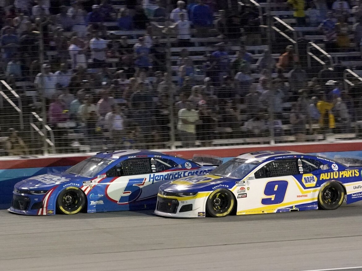 Kyle Larson wins 2nd NASCAR All-Star race, this one in Texas