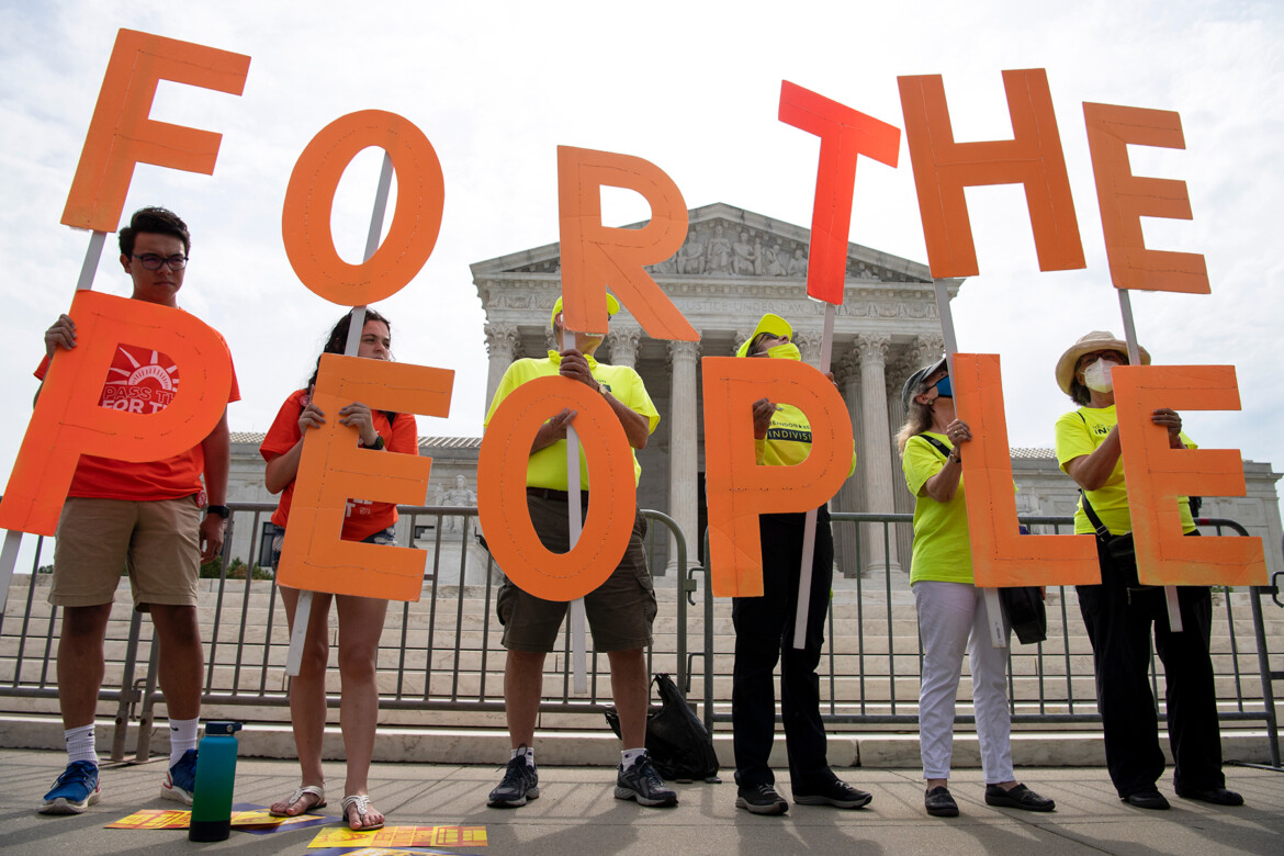 The Push to Protect Voting Rights Is on Life Support