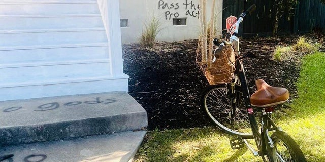 SC Rep. Nancy Mace's home vandalized with Antifa symbols: 'It's such a violation of one's privacy'