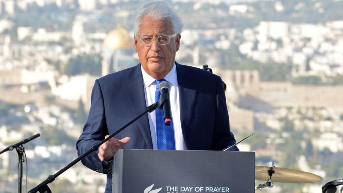 Exclusive: Trump's controversial Israel ambassador will write tell-all Memoir titled 'Sledgehammer'