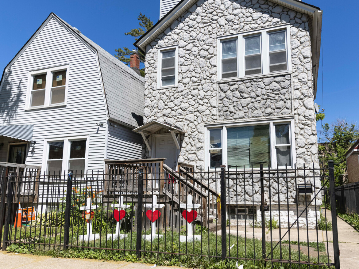 Chicago cop owned Englewood home where four were killed; stripped of police powers pending investigation