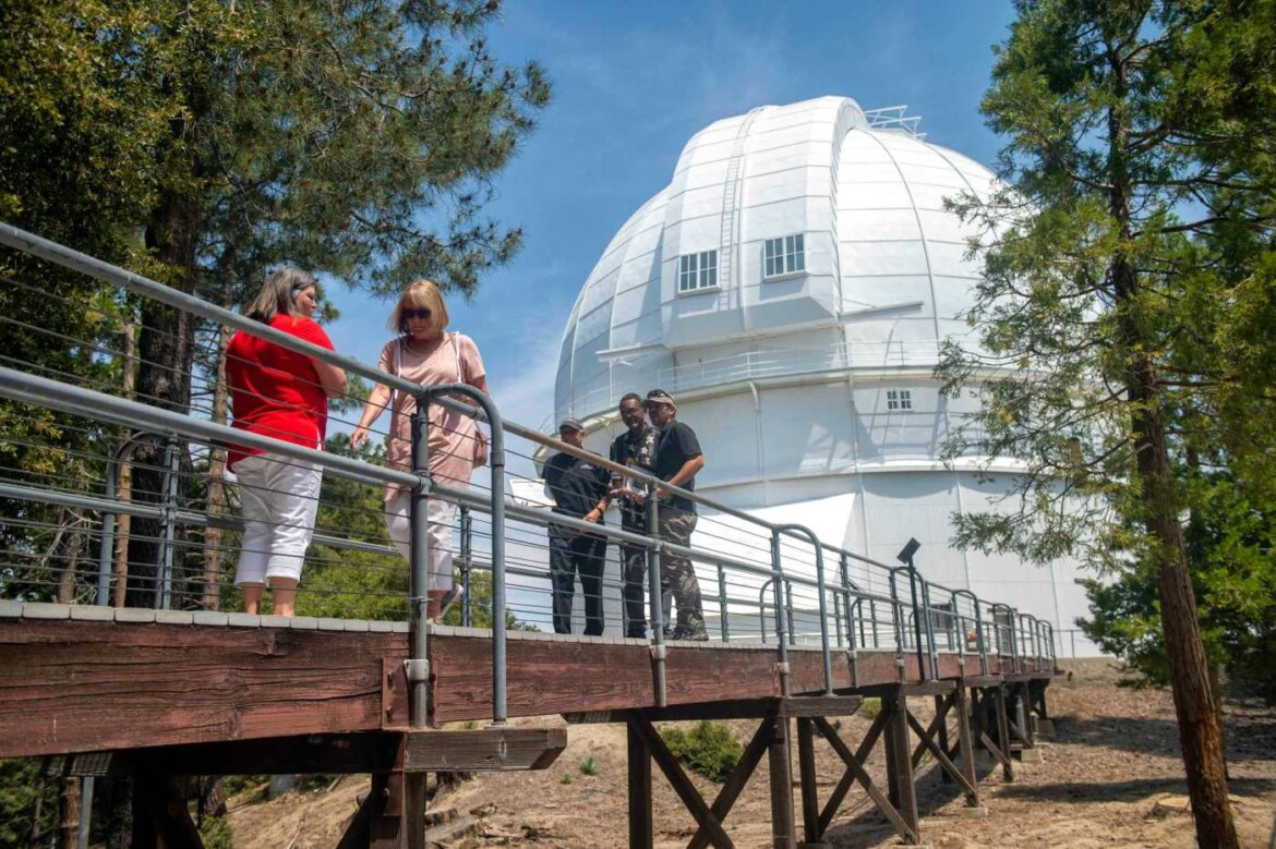 Photos: After seemingly endless days of fires and pandemic, beloved Mount Wilson Observatory reopens