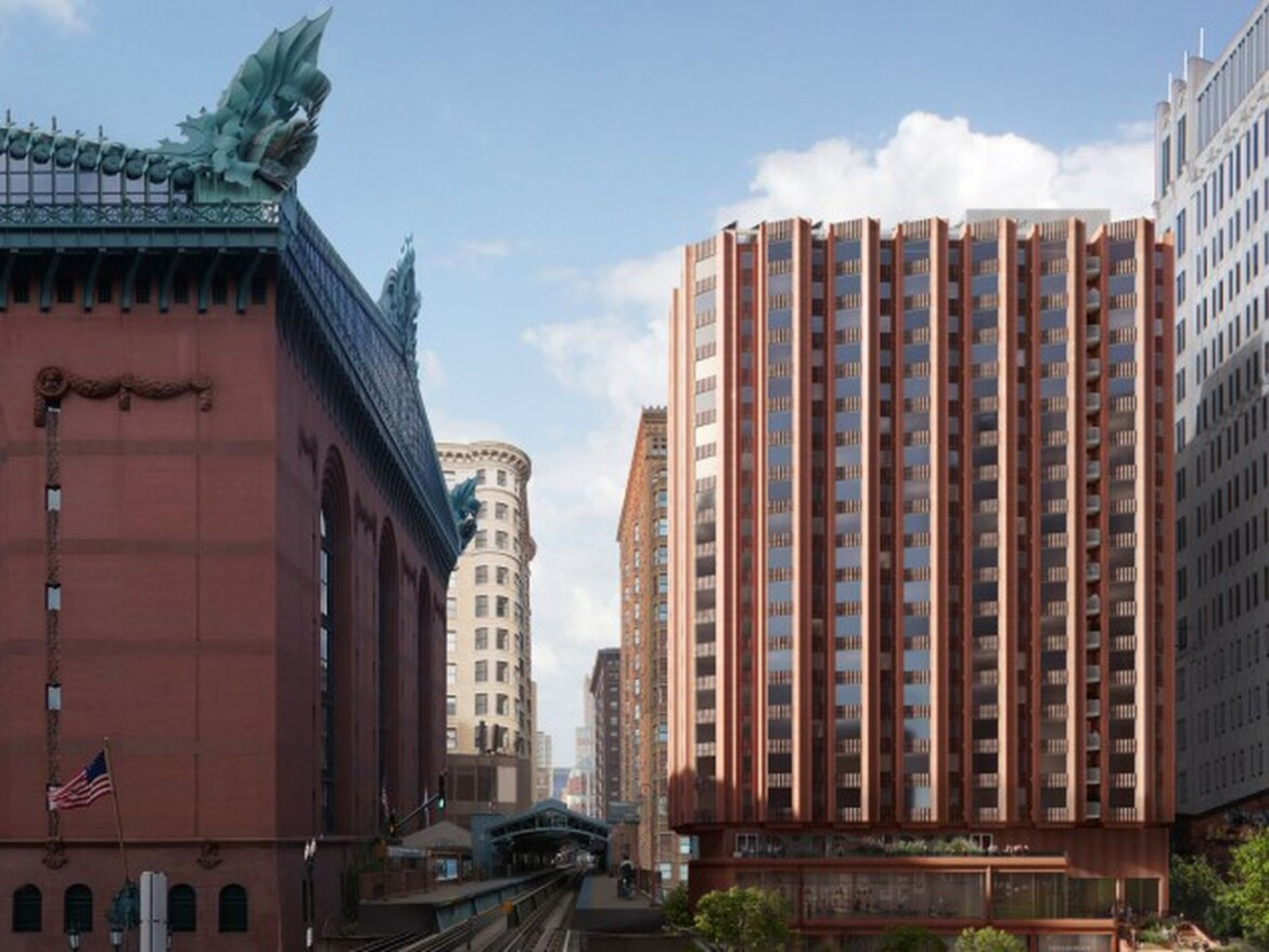 Affordable-housing deal picked for city-owned land near Harold Washington Library