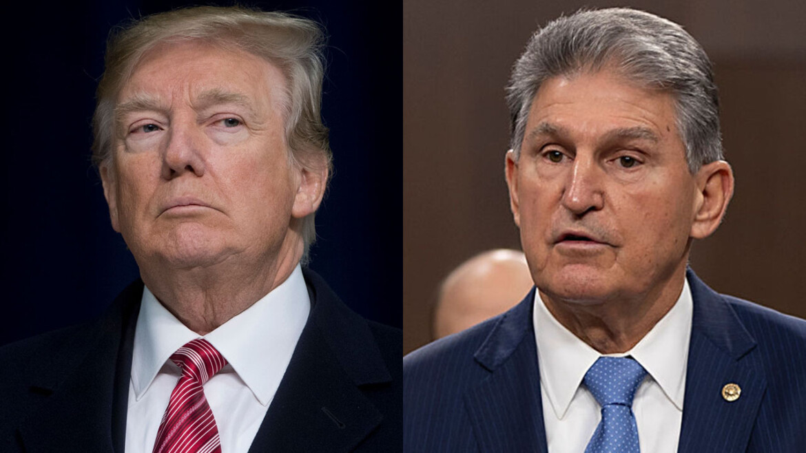 Trump says Sen. Manchin 'doing right thing' by saying 'no' to ending the filibuster
