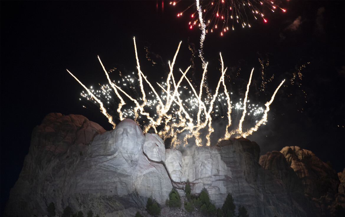 South Dakota Gov. Noem vows legal battle to get Mt. Rushmore July 4th fireworks reinstated for 2022