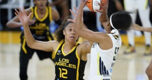 Fourth team's the charm: Nia Coffey fitting in with Sparks
