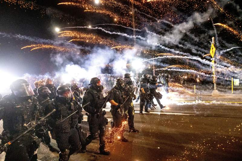 Officers resign from Portland, Oregon, protest response unit
