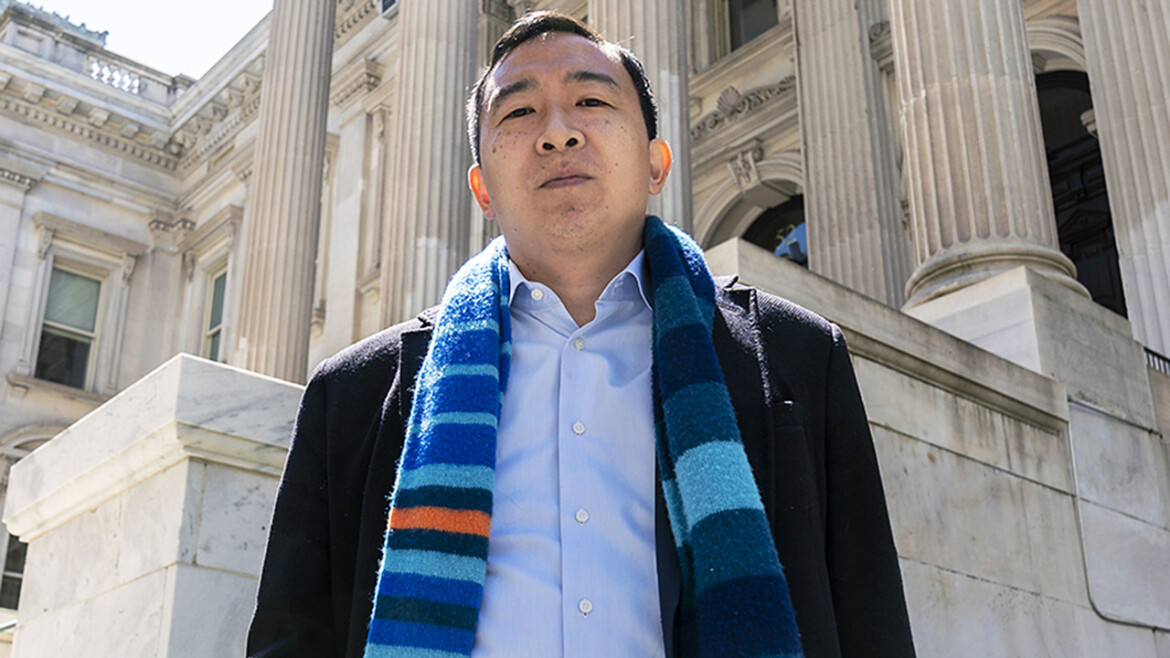 NYPD captains union endorses Yang for mayor over ex-cop Adams