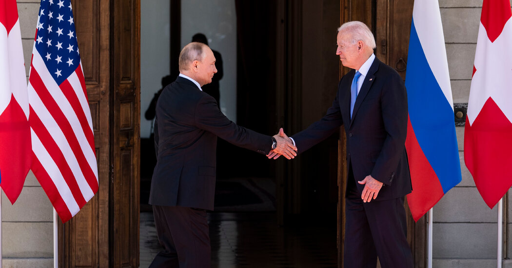 After Biden Meets Putin, U.S. Exposes Details of Russian Hacking Campaign