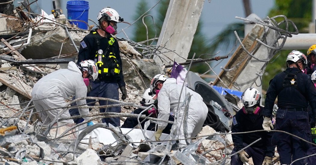 Miami Building Collapse: After Demolition, More Bodies Are Found